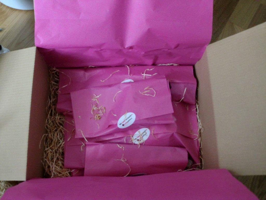 Luckypetbox Überraschung in pink